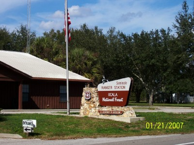 Umatilla, Florida: Ocala National Forest Ranger Station